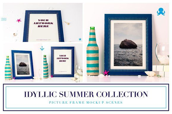 Idyllic Summer Collection by DIGITAL INFUSION on @creativemarket