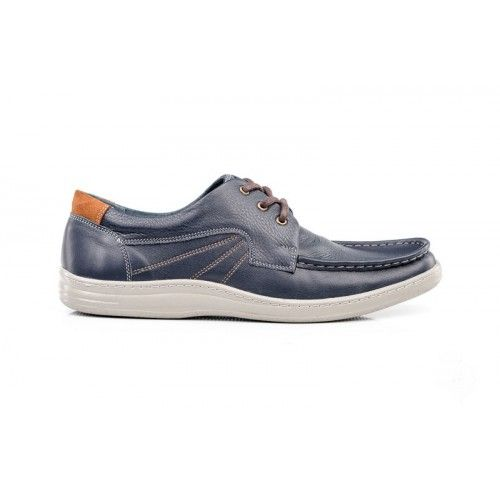 Туфли мужские синие Б-035с