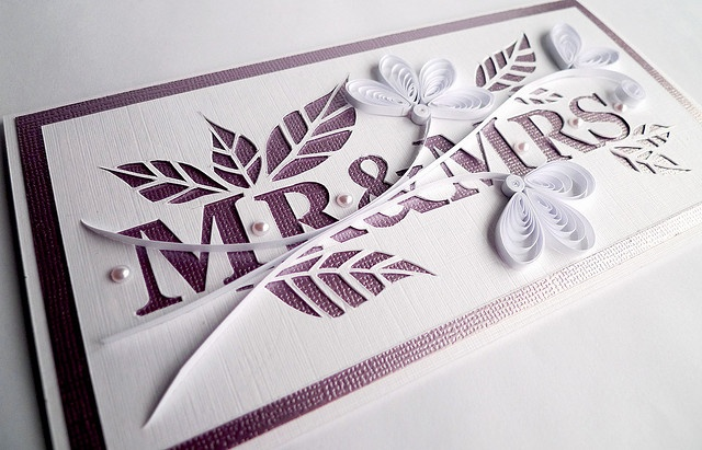 Elegant wedding card..paper and X-ACTO knife.Quilling Wedding Cards, Quilling Cards, Crafts Ideas, Cards Ideas, Things Paper, Cards Makin, Cards Crafts, Paper Crafts, Elegant Wedding