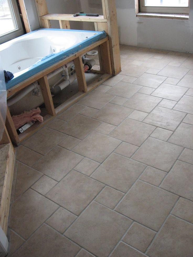 Pinwheel Pattern Example W Rialto Noce Porcelain Tile I