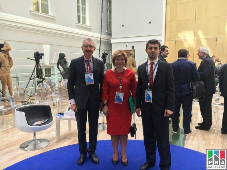 РИА «Дагестан» Директор Дагестанского центра избирательного права принял участие в Международном юридическом форуме в Санкт-Петербурге