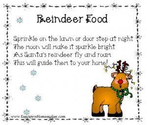 ... Santa | Pinterest | Reindeer Food, Reindeer and Reindeer Food Poem