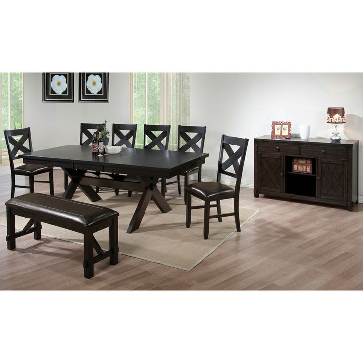 Winners Only Dining Room Set Edgewater In Espresso