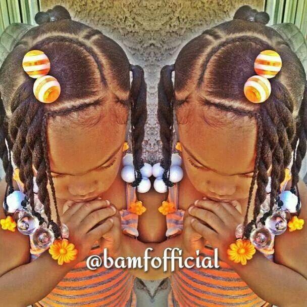 Twists Braids Ballies Barretts Lil Girl Hairstyles