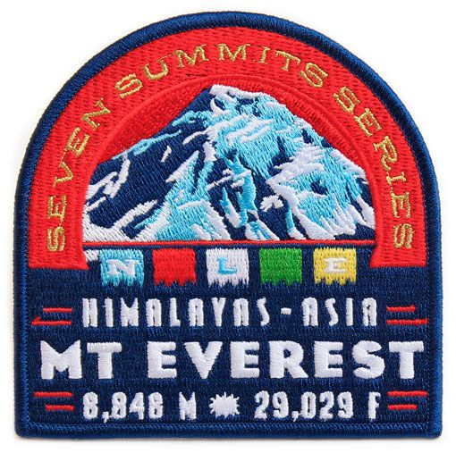 Double Takes: SEVEN SUMMITS EXHIBITION PATCHES: BEN NOE