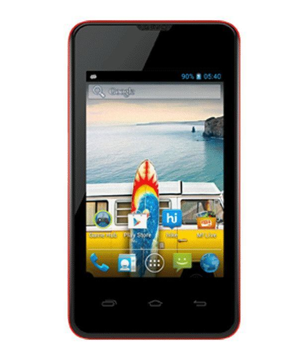 ONLINE SHOPPING WITH GREAT DISCOUNTS: Micromax Bolt A58 (Black-Red)