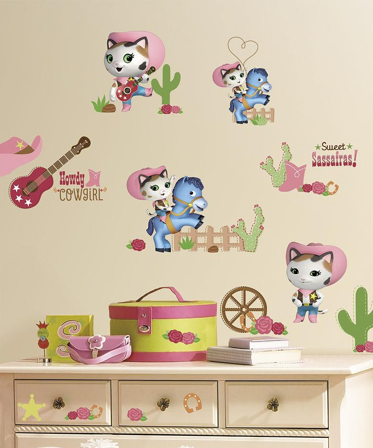 Sheriff Callie's Wild West Wall Decal Set