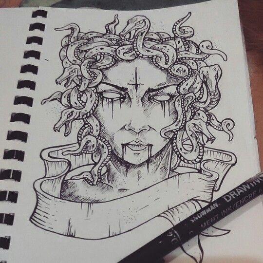 Medusa...up closer