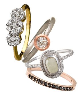 Rock Out With 18 Of The Coolest Engagement Rings On The Block! #refinery29