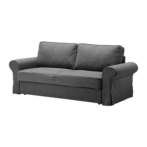 BACKABRO Sofa bed slipcover IKEA The cover is easy to keep clean as it is removable and can be dry cleaned.