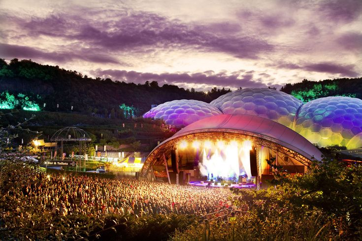 Photo gallery   Eden Sessions concerts, Eden Project, Cornwall
