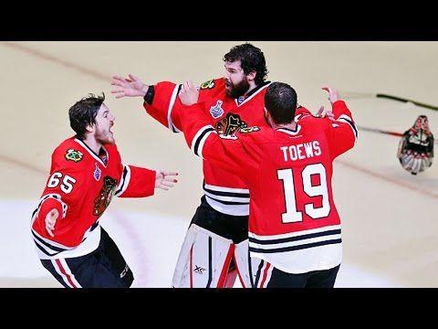 Blackhawks win 2015 Stanley Cup as final buzzer sounds - YouTube