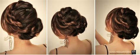 5 Minute Easy Hairstyles For Back To School Messy Bun