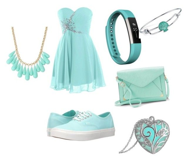 """""""lava blue"""" by shanishawilliams ❤ liked on Polyvore featuring Vans, Apt. 9, Fitbit, Disney and INC International Concepts"""