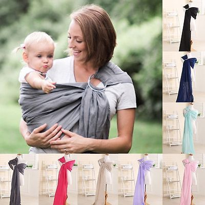 Fashion Infant Baby Boys Girls Adjustable Breathable Backpacks Newborn Baby Carrier Ring Sling Wrap Backpack Pouch