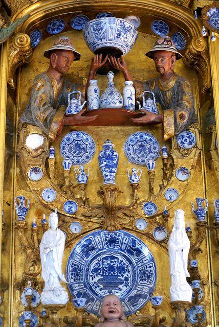Berlin, Schloss Charlottenburg, Porzellankabinett (Charlottenburg Palace, porcelain cabinet):