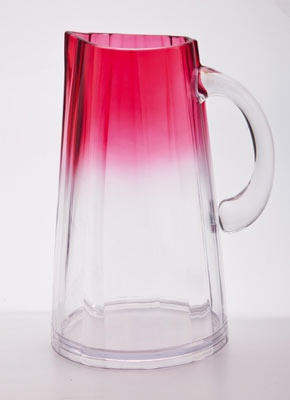 Ombre Pitchers, now available in pink or green