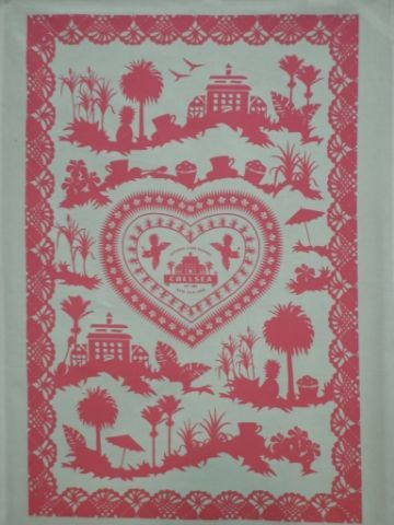 Chelsea Sugar inspired tea towel from Mr Four Square.