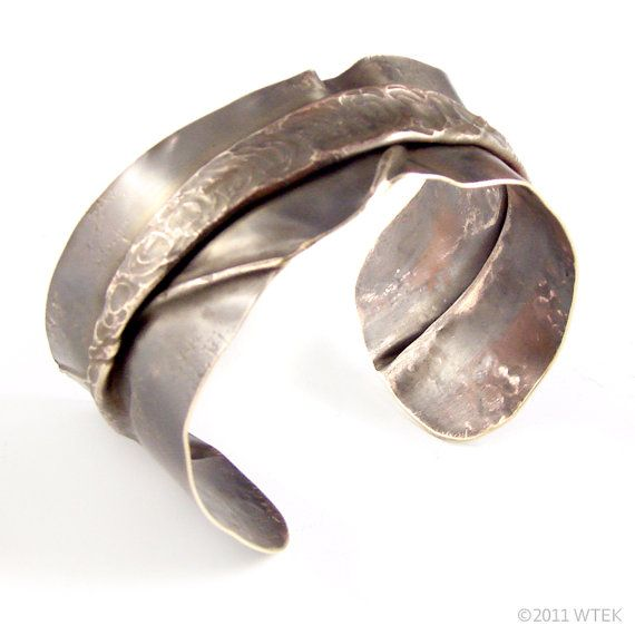 And on the Seventh Day of Cuffmas... Two Skinny Brass Cuffs