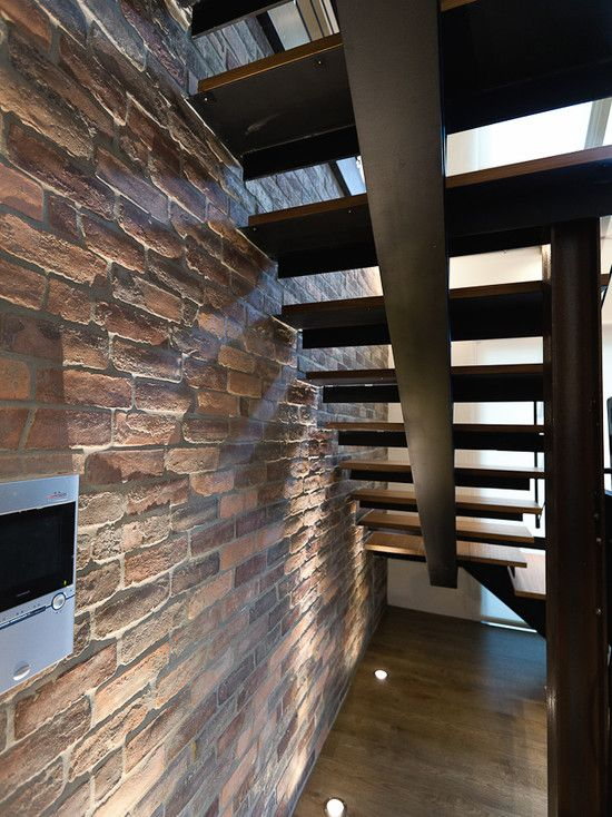 17 Best Images About Exposed Brick Staircase On Pinterest
