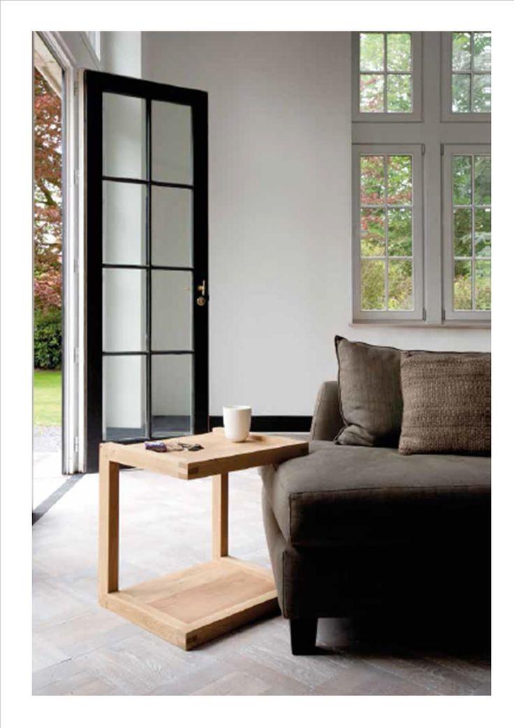Frame Sofa Sidetable- Oak Ethnicraft Collection 2014-2015