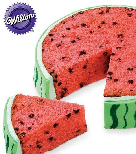 Watermelon slice cake #pinterest