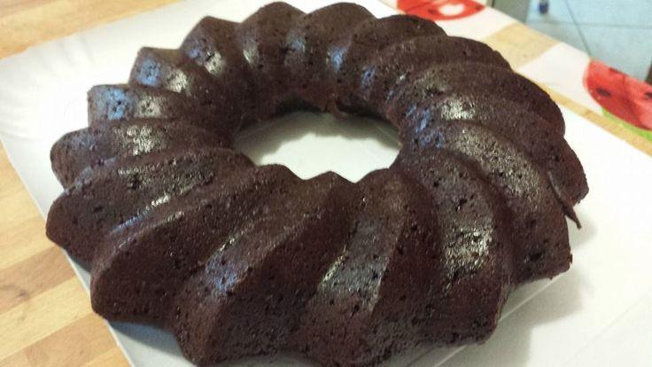 veg chocolate donut!