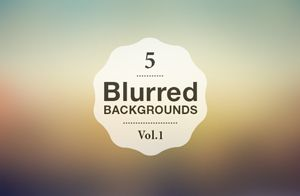 Blurry images looks great as wallpapers, backgrounds for sites or product presentations. Here's a set of....