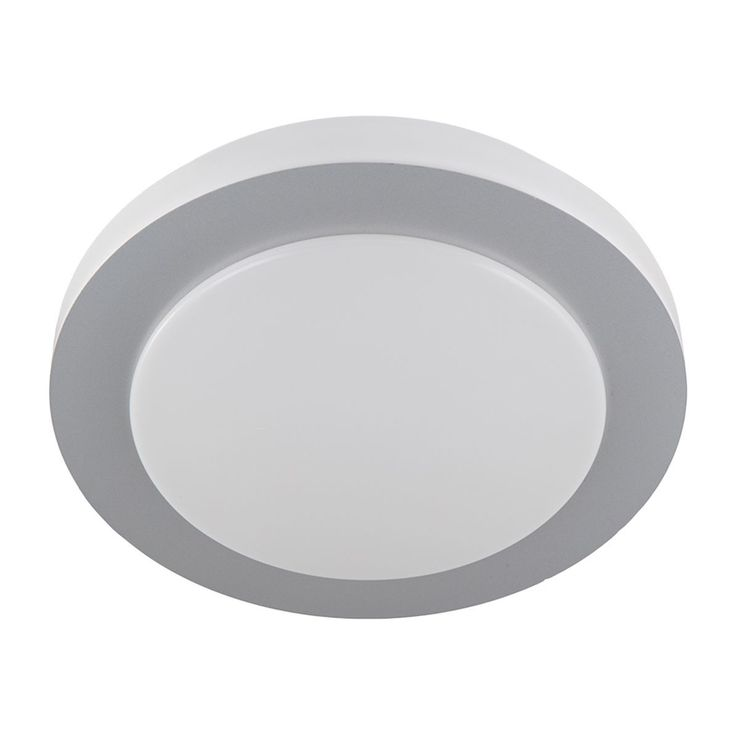 EEK A+, LED-Deckenleuchte Gordon Circle - Kunststoff - 1-flammig - 38 - Weiß / Grau, Nino Leuchten Jetzt bestellen unter: https://moebel.ladendirekt.de/lampen/deckenleuchten/deckenlampen/?uid=175a0425-51d5-5bf2-b713-64ea624298a1&utm_source=pinterest&utm_medium=pin&utm_campaign=boards #deckenleuchten #leuchten #lampen #innenleuchten #deckenlampen #nino