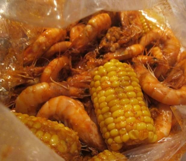So there`s this restaurant called Boiling Crab where I live in Los Angeles.  They serve the best cajun shrimp I`ve ever had.  I used to go there every week for