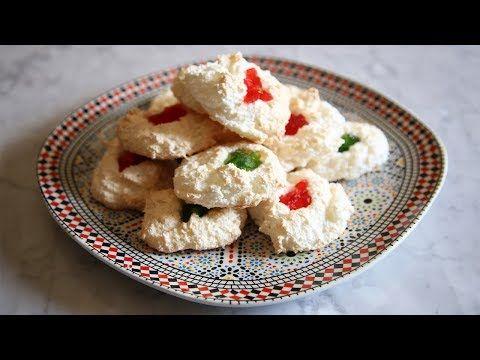 حلوى جوز الهند خاصة بالعيد - Coconut cookies - YouTube