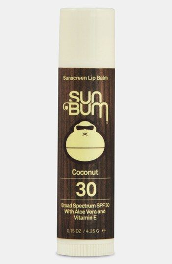 Sun Bum Coconut Lip Balm Broad Spectrum SPF 30 available at #Nordstrom