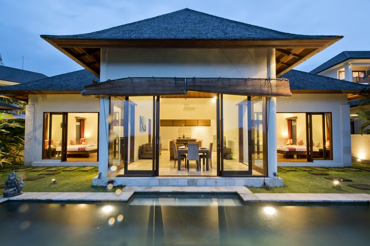 Beautiful private villa within our resort. Modern yet traditional. Bali, Indonesia
