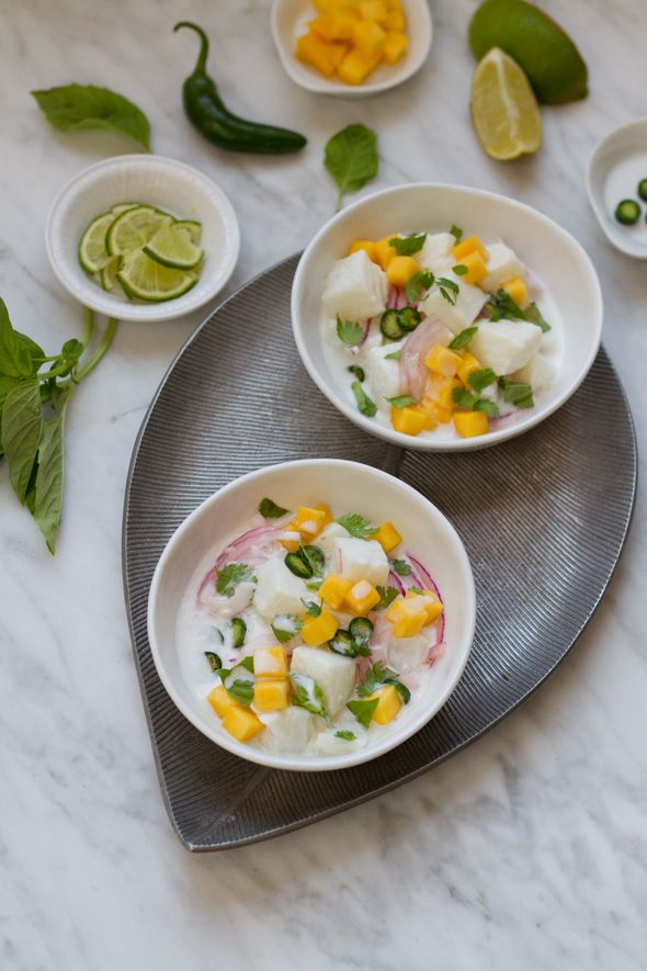 Ceviche, Chile and Basil on Pinterest