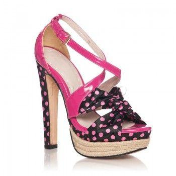 Sandale Polka - Roz