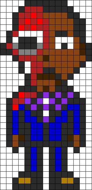 Breaking Bad - Gustavo Fring perler bead pattern