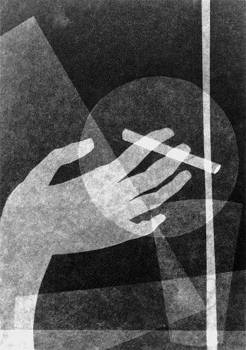 Oskar Nerlinger,  Photogram - 1925