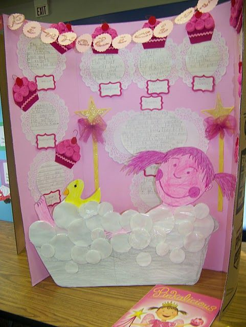 Pinkalicious reading fair project. I love the idea of a READING fair!!