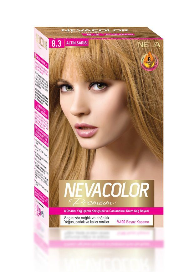 Nevacolor Premium Sac Boyasi 8 3 Altin Sarisi Sac Boyasi