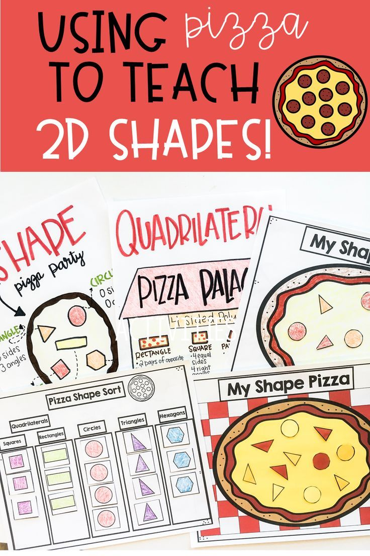 2d Shapes Are A Fun Math Standard This 2d Shape Pizza Activity Is A Hands On Way To Teach Students 2d Sh 2d Shapes 2d Shapes Activities Math Center Activities [ 1104 x 736 Pixel ]
