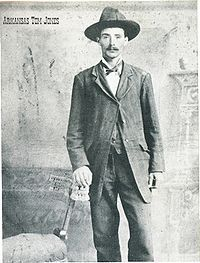 Roy Daugherty, also known as Arkansas Tom Jones, (1870 - August 16, 1924) was an outlaw of the Old West, and a member of the Wild Bunch gang, led by Bill Doolin.