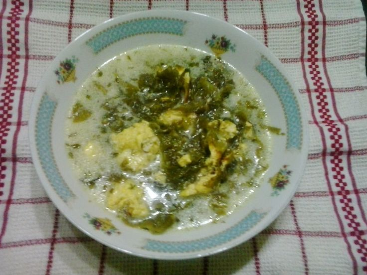 Retete cu margareta cismasiu: Ciorba de salata verde