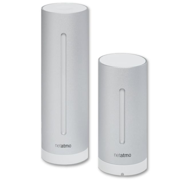 Netatmo Weather Station - Stazione metereologica per iPhone, iPad ed Android - Stazione metereologica wireless e misura dell`aria interna per iPhone, iPad ed Android