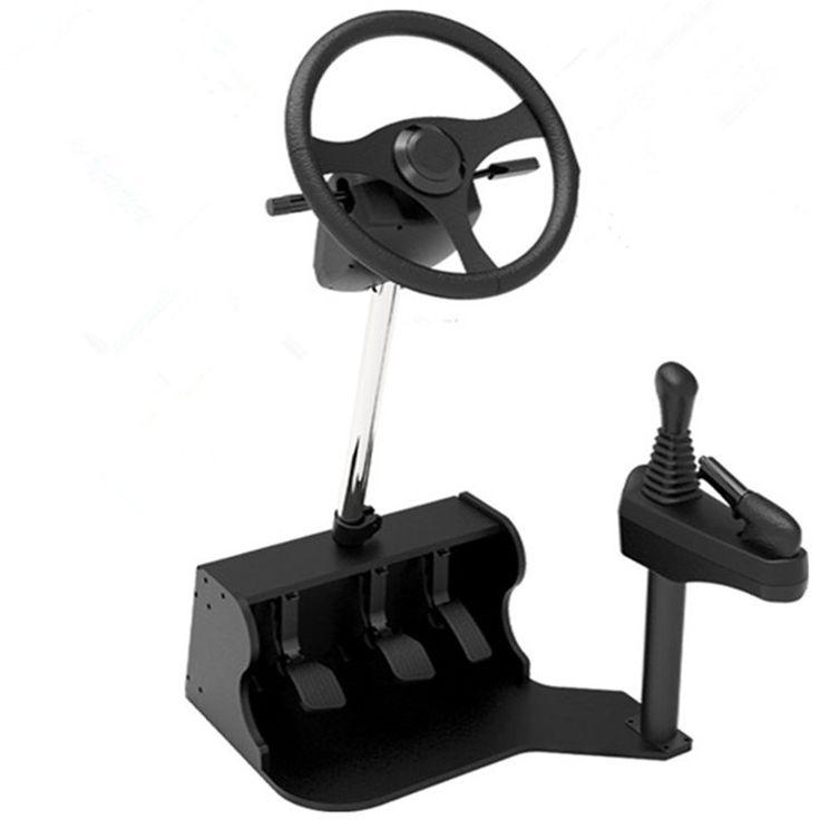 >> Click to Buy << 2016 new computer Racing game steering wheel dual USB car driving simulator school car driving test driving school training mach #Affiliate