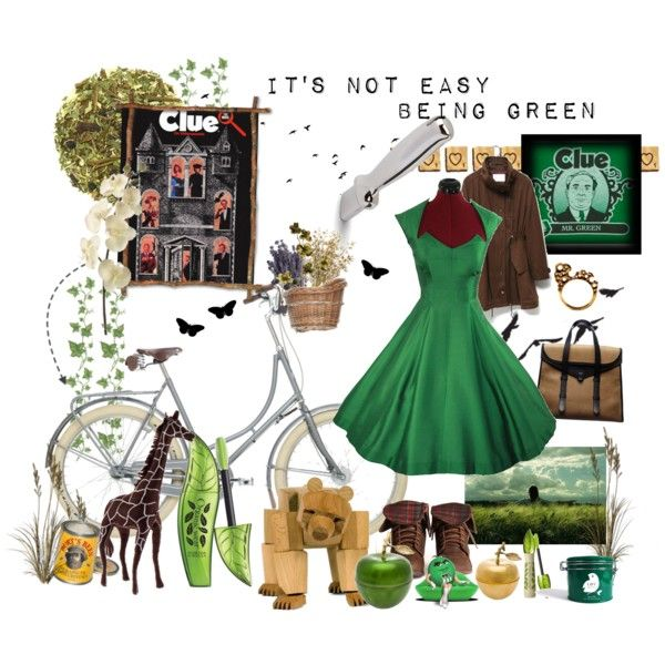 Be inspired by both the game and the movie clue go green for Go as you like ideas