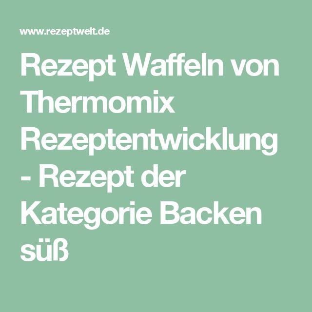 Rezept Waffeln von Thermomix Rezeptentwicklung - Rezept der Kategorie Backen süß