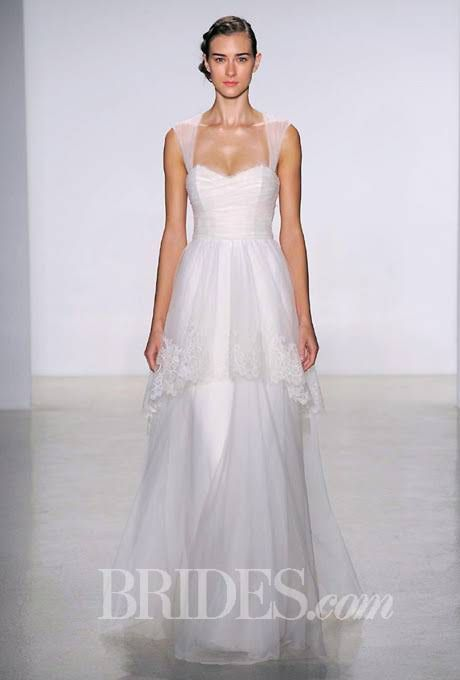 Christos Wedding Dresses Fall 2014 Bridal Runway Shows | Wedding Dresses Style | Brides.com