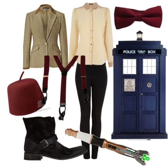 Perfect Doctor who outfit!