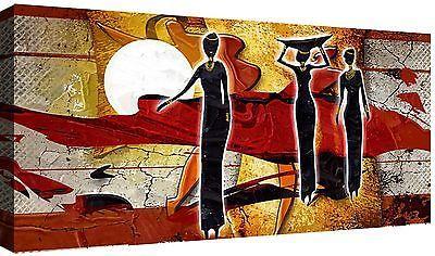Quadro moderno cm 100x50 Stampa su tela 1 Pz Arredamento Arredo Etnico Africa 9