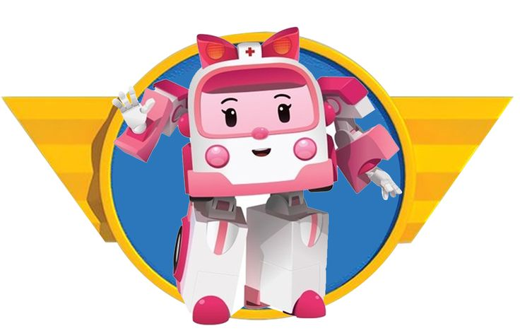 ROBOCAR POLI / PRINTABLE / PARTY